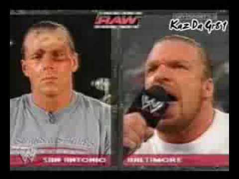 hbk finds out hhh attacked him on raw