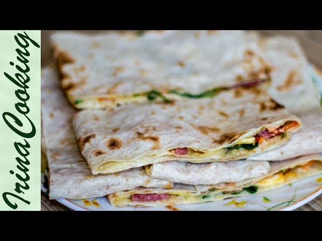 Быстрые БУТЕРБРОДЫ ИЗ ЛАВАША на завтрак 🥪 Горячие Бутерброды в Лаваше ✧ Ирина Кукинг