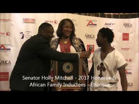 Senator Holly Mitchell - African Family Induction & Award