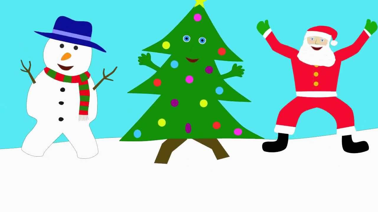 The Dancing Christmas Tree Song - YouTube