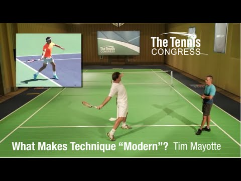 "What Makes Tennis Technique ""Modern""? Tim Mayotte at Tennis Congress 2015"