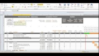 Gantt Chart Template - Project Plan