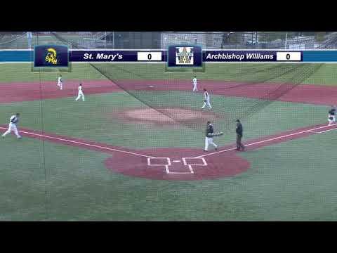 SMHS Baseball vs  Archbishop Williams High School May 15, 2019