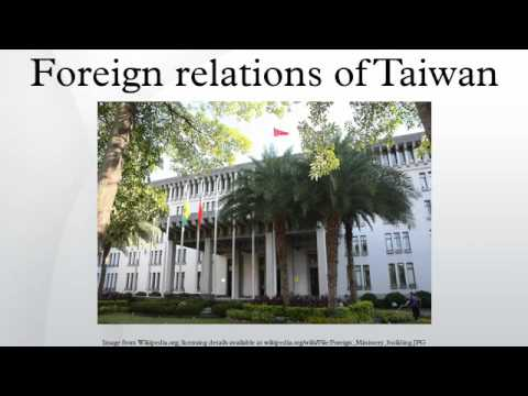 Foreign relations of Taiwan