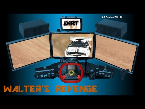 DiRT Rally: Audi Quattro S1 at Pikes Peak (Mixed Surface) - 09:05.144