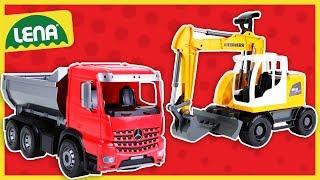 LENA® WORXX Kipper und Bagger vom Spielzeugtester geprüft