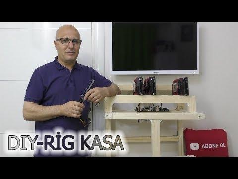 Mining Rig Kasası Nasıl Yapılır? Ethereum,ZCASH,Altcoin Madencileri için Mining Rig Kasası Tarifi
