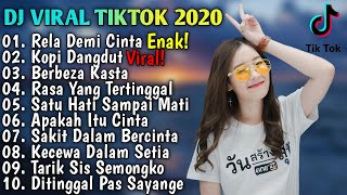 Download lagu DJ Terbaru 2020 Slow Remix 💃 DJ Rela Demi Cinta Full Bass 2020 - DJ Viral 2020