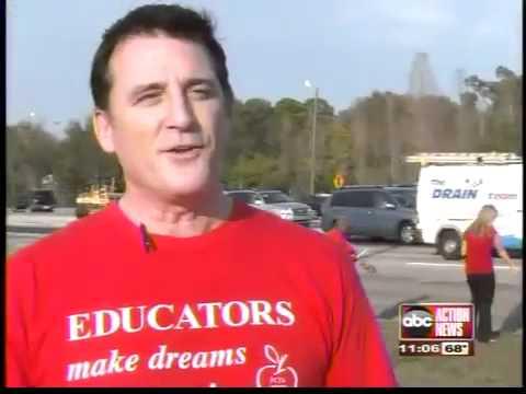 Teachers rally for funding