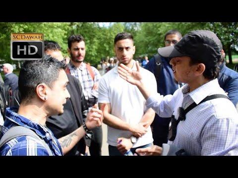 P1 - Justify it! Mansur & Visitor | Speakers Corner | Hyde park