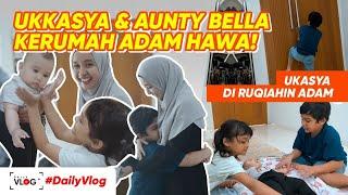 Download UKKASYA DAN AUNTY BELLA DIKUNCIIN ADAM!!! | #dailyvlog