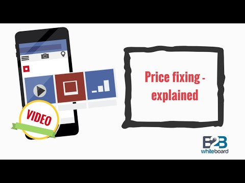 Price fixing - explained