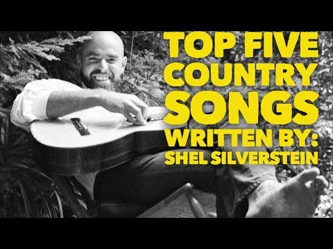 Top Five Country Songs Written by Shel Silverstein