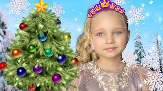 Алиса на НОВОГОДНЕЙ ФОТОСЕССИИ ! Мими Лисса как принцесса !