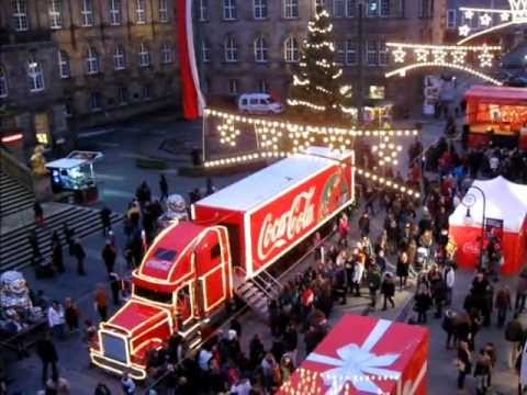 er ffnung adventskalender und coca cola weihnachtstruck youtube. Black Bedroom Furniture Sets. Home Design Ideas