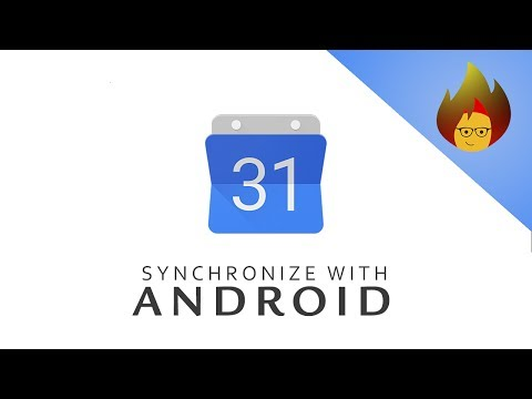 SYNCHRONIZE With Android | GOOGLE CALENDAR
