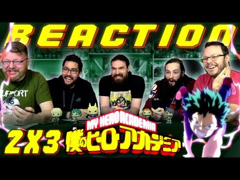 My Hero Academia [English Dub] 2x3 REACTION!!