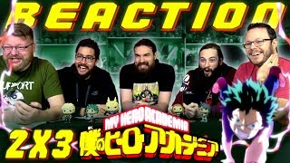 "My Hero Academia [English Dub] 2x3 REACTION!! ""In Their Own Quirky Ways"""