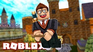 I AM AN EVIL POTTER HARRY!! | Roblox Wizard Simulator