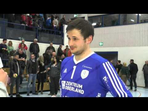 Bestplayerinterview: Wacker Thun - TSV St. Otmar St. Gallen mit Andreas Merz