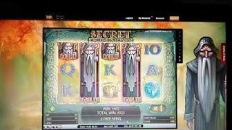 Big Win on Secrets of the Stones @ Video Slots online Casino