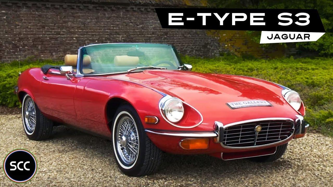 jaguar e type v12 cabriolet 1974 modest test drive v12. Black Bedroom Furniture Sets. Home Design Ideas