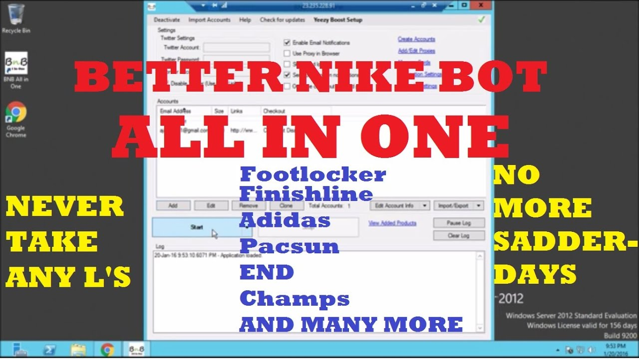 Better Nike Bot 'All In One
