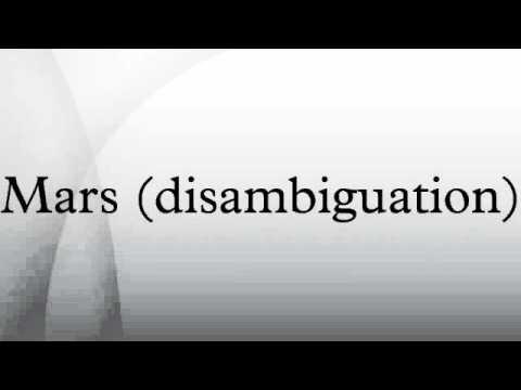 Mars (disambiguation)