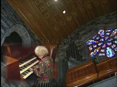 H. Mulet - Tu es Petra (Thou Art the Rock) - Diane Bish - Program #2007