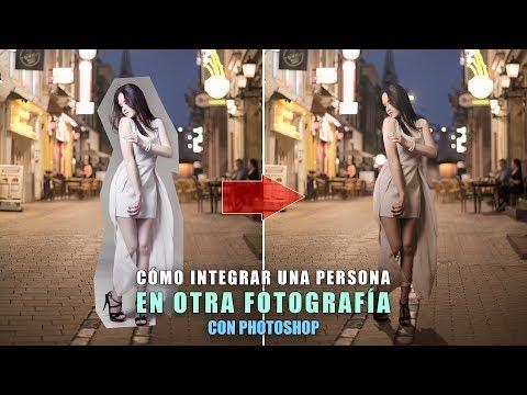 Cómo integrar una persona en otra fotografía con Photoshop