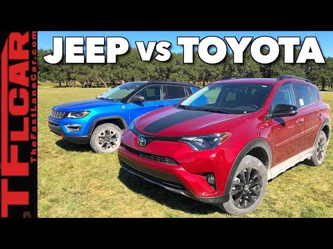 What's Better Off-Road: 2018 Jeep Compass Trailhawk vs Rav4 Adventure?