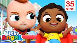 Play Nice At School Baby John + More Little Angel Kids Songs And Nursery Rhymes