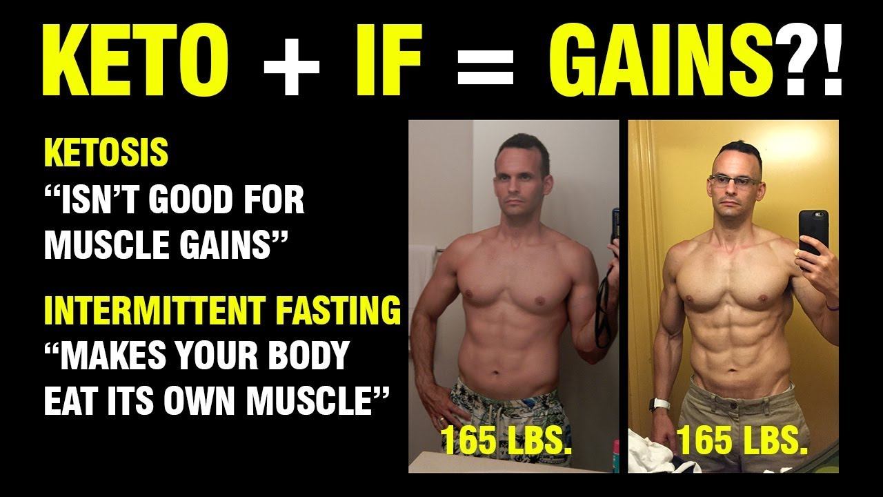 gainig muscle on a ketogenic diet