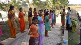 Outdoor Bharatanatyam Class