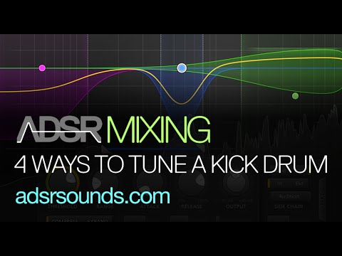 Mix Essentials - 4 Ways To Tune Kick Drums