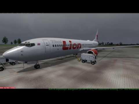 Перелет аэропорта Phuket в аэропорт Bangkok Boeing 737-900 компании Lion Air