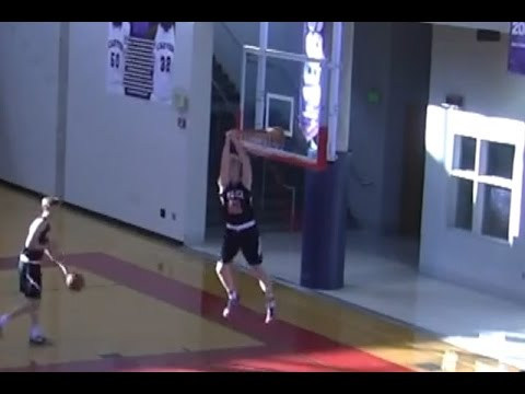 Dunking in a game - Mother's Day Tournament Basketball Highlights