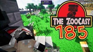 Minecraft Jurassic World (Jurassic Park) ZooCast - #185 Wyntr Heading Home!