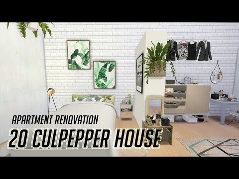 The Sims 4 City Living | 심즈4 나의 드림하우스, 프로그래머의 아파트 | Apartment Renovation | Programmer's House