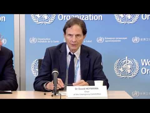 WHO presser on Zika - 2nd September 2016 at 2 PM (CEST)