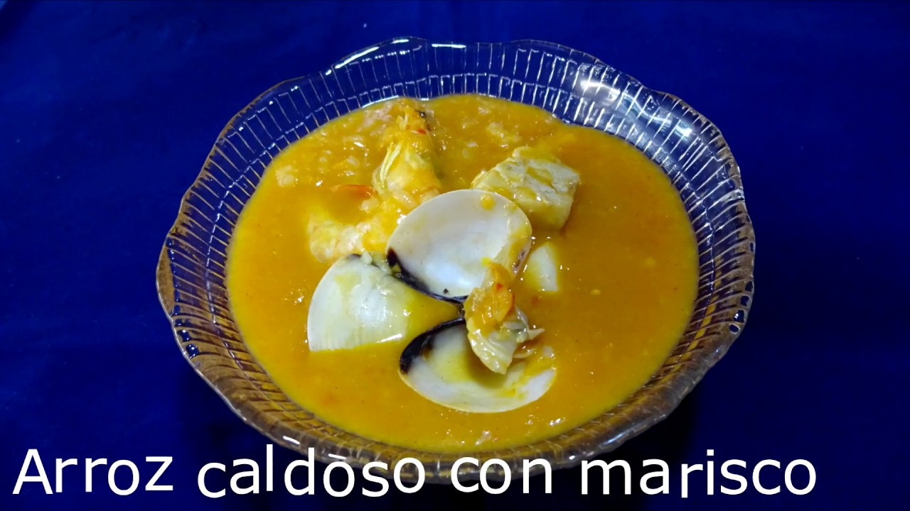 Arroz caldoso con marisco con monsieur cuisine plus youtube - Arroz caldoso con marisco ...