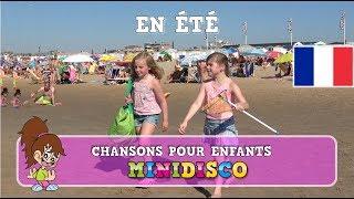 En Eté | Chansons pour enfants | Á LA PLAGE | Les comptines | Chansons à danser par Minidisco