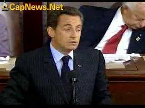 NICOLAS SARKOZY: French President's Speech to U.S. Congress