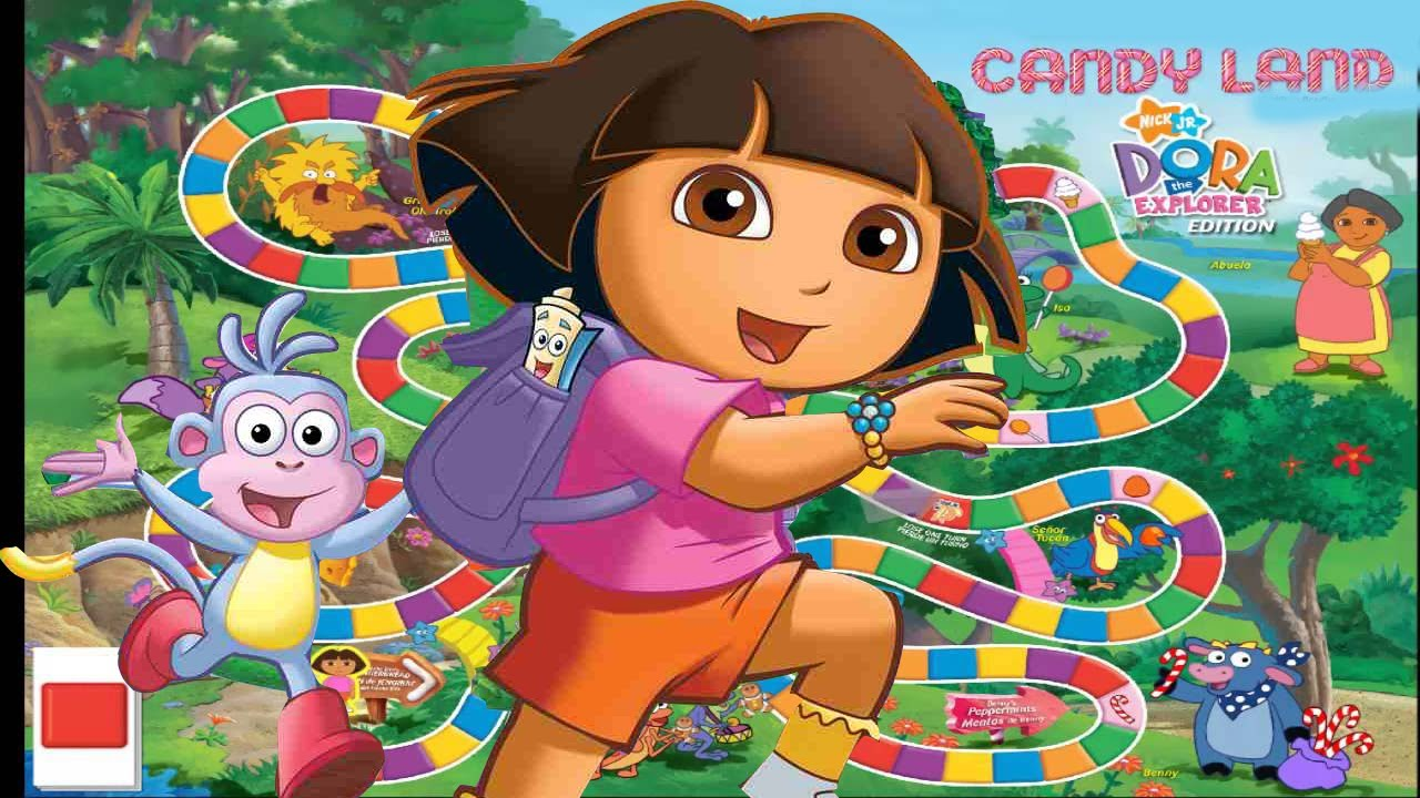 Dora The Explorer Game Candy Land Free Online Games