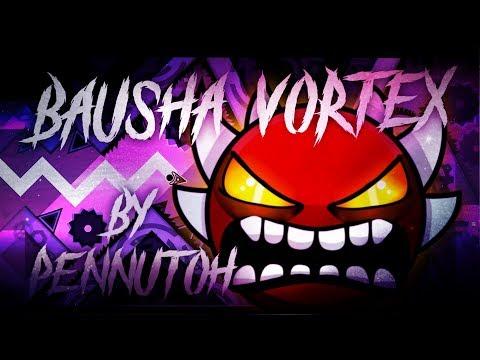 Bausha Vortex by Pennutoh (Extreme Demon) | Geometry Dash