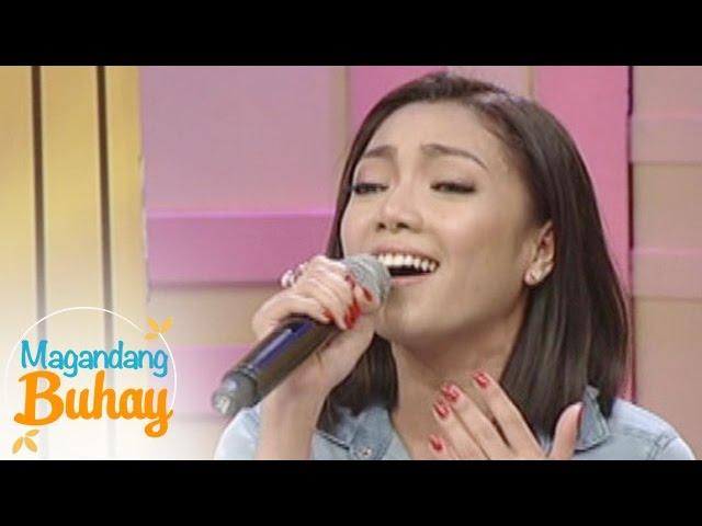 "Magandang Buhay: Jona sings ""I Turn To You"""