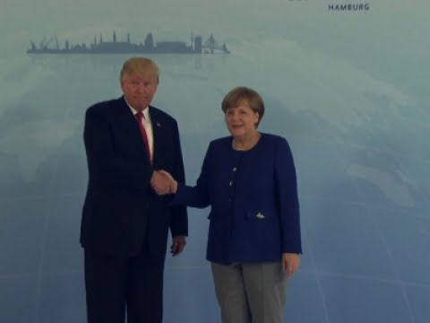Trump Arrives in Hamburg Ahead of G20 Summit