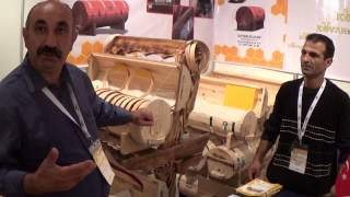 Турецкий Улей Для Сотового Меда, АПИСЛАВИЯ 2014, Турция, Часть-2  Turkish Honey Turkiye