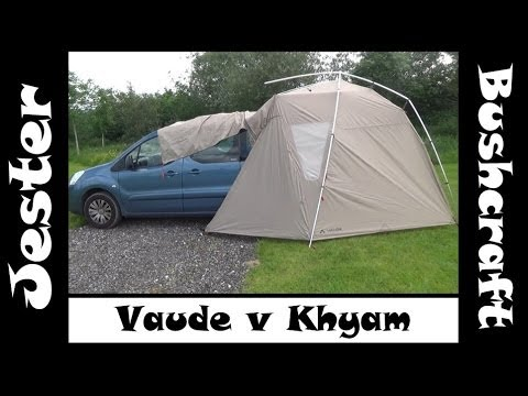 Vaude Tailgate Awning Review & Khyam Comparison