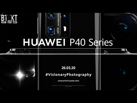 Huawei P40 Series Will NOT Launch As Planned in Paris